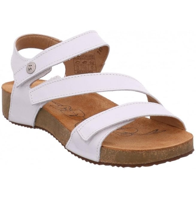 76196d148d9c Josef Seibel Josef Seibel Womens Tonga 25 White Velcro Sandals 78519 43 800