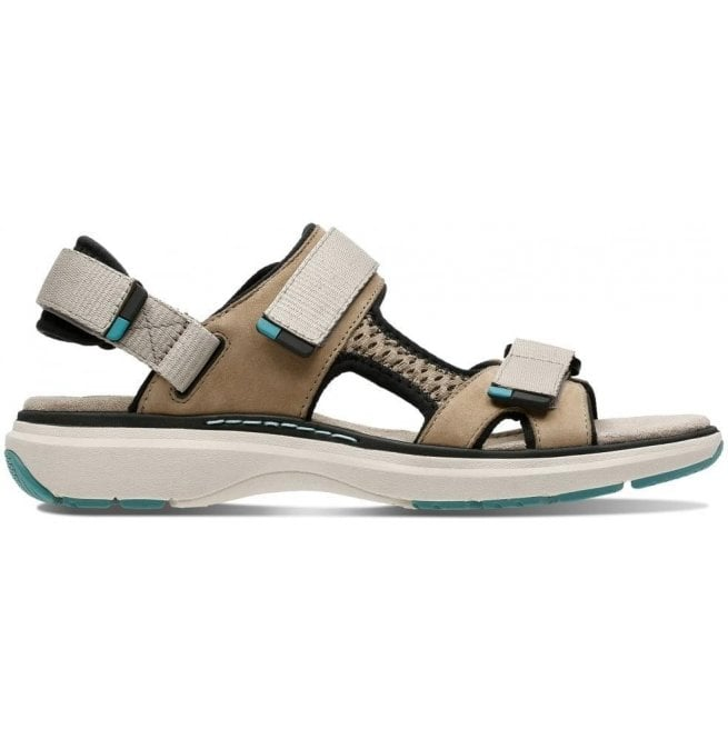 34a568cb7758 Clarks Clarks Womens Un Roam Step Sand Nubuck Velcro Sports Sandals 26133933