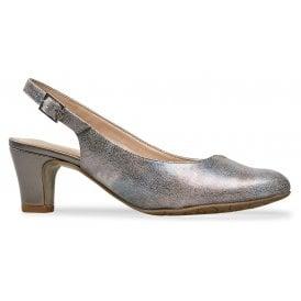 4a7946a44ec1 Womens Winton Lunar Print Metal Slingback Court Shoes 2686850